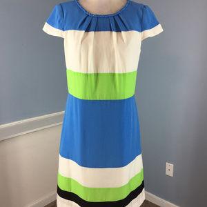 CHETTA B M 8 Colorblock Sheath dress Career